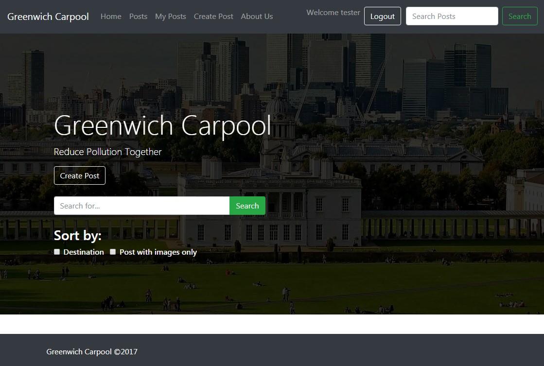 Greenwich Carpool System